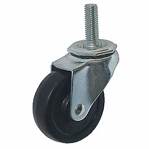 SWIVEL STEM CASTER 4IN DIA. 115 LB.