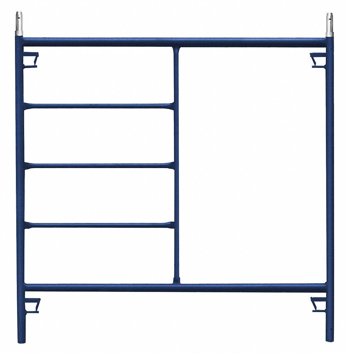 Scaffold Frame, Steel/Plastic, 60 in Overall Height, 5,127 lb Load Capacity