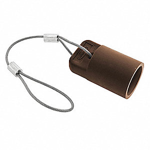 Single Pole Connector Cover,Female,Brown