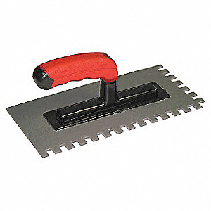 Plastic Trowel, For Use With Electric Radiant Floor Heating Mats