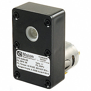 DC Gearmotor 24VDC, Nameplate RPM: 85, Max. Torque: 44.0 in.-oz., Enclosure: Open