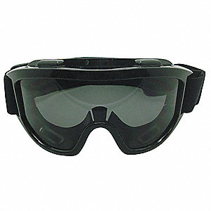 Uncoated Indirect Safety Goggles, Shade 5.0 Lens