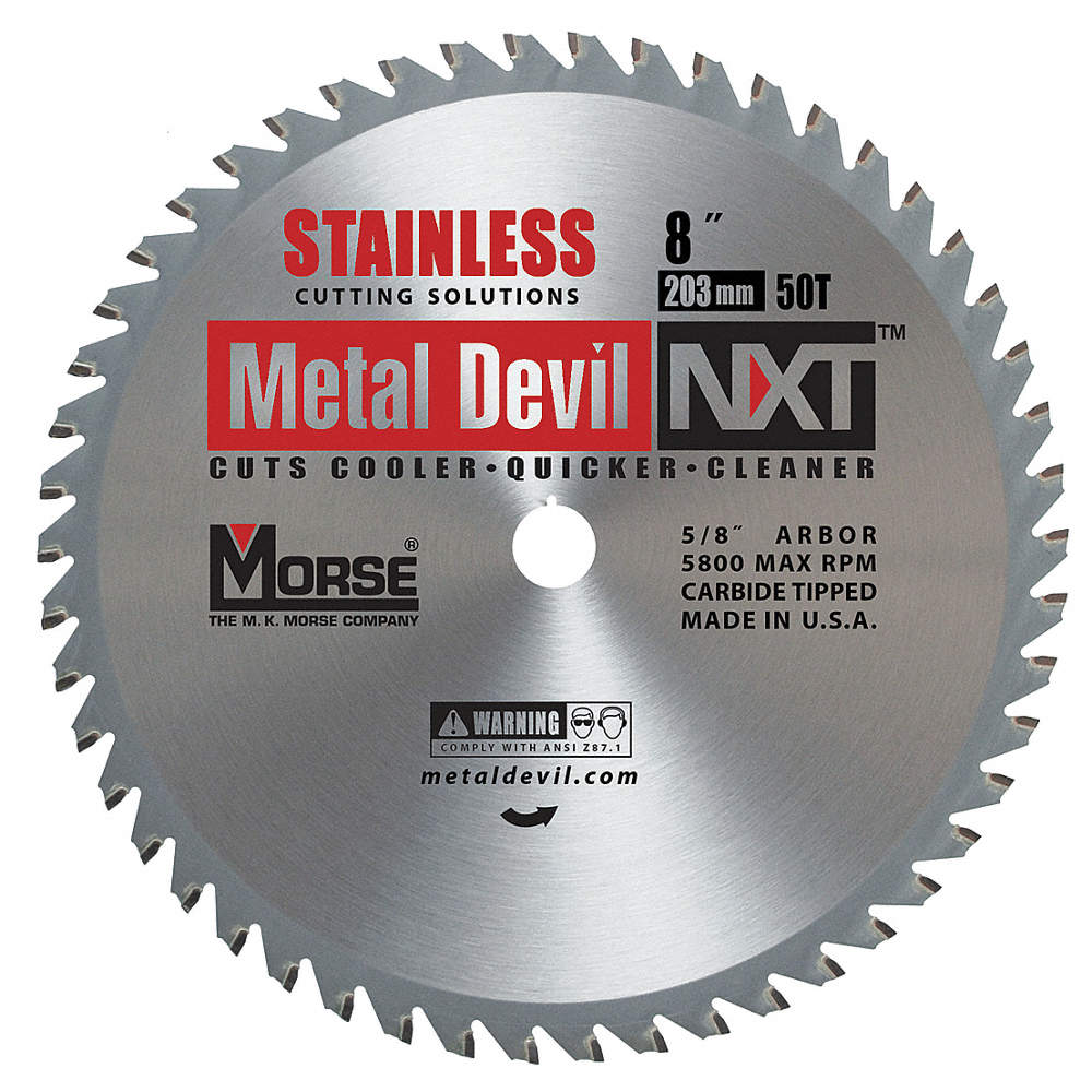 Morse 8 carbide stainless steel cutting circular saw blade number zoom outreset put photo at full zoom then double click greentooth Choice Image