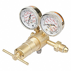Professional SR4K-677 Series, Gas Regulator, Single Stage, High Pressure, 300 to 4500 psi