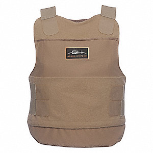 Ballistic Vest Package,XL,Tan
