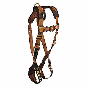 L/XL Construction, General Industry CTech Harness 1D, 5000 lb. Tensile Strength, 425 lb. Weight Capa