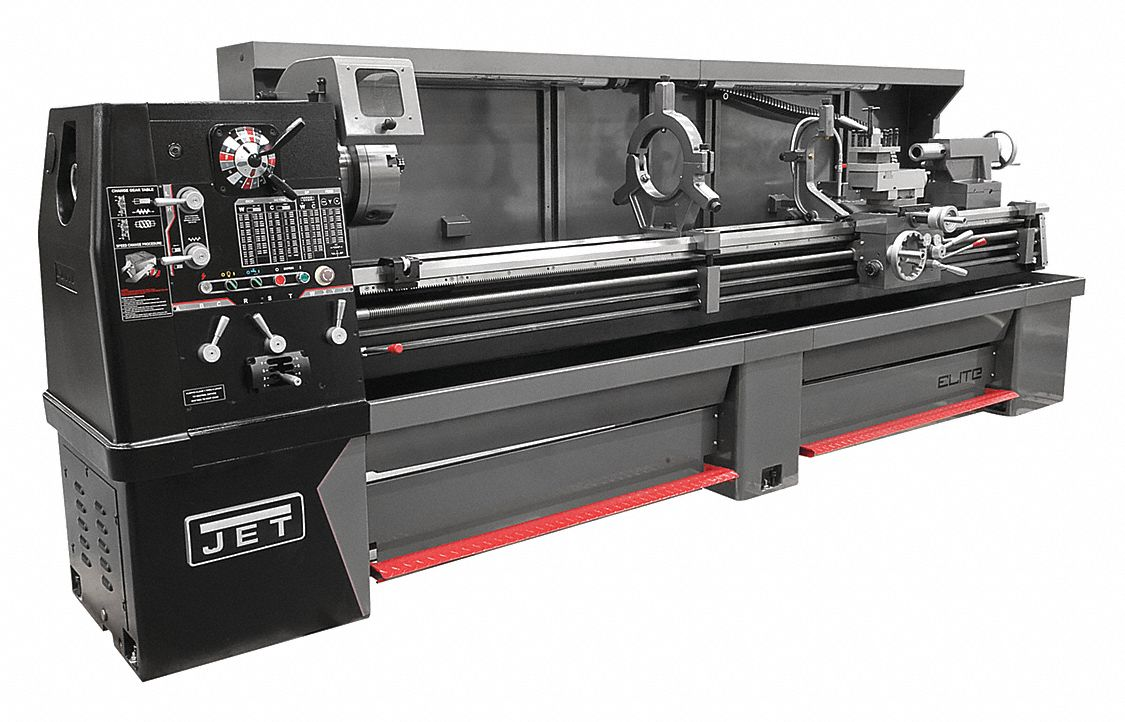 Lathe,  Distance Between Centers 80 in,  Voltage 230/460,  12 1/2,  Min. Spindle Speed 20 RPM