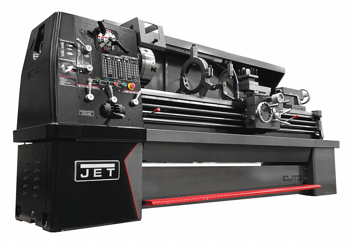 Lathe,  Distance Between Centers 80 in,  Voltage 230,  12 1/2,  Min. Spindle Speed 20 RPM