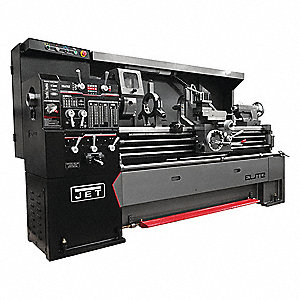 Lathe,7-1/2 HP,3 Phase,230V