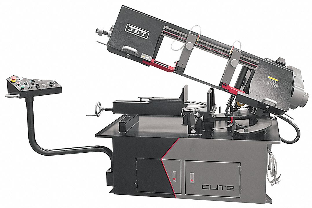 Corded,  Band Saw,  Horizontal,  Semi-Automatic
