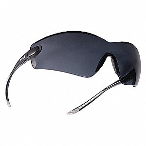 Cobra Anti-Fog, Scratch-Resistant Safety Glasses, Smoke Lens Color