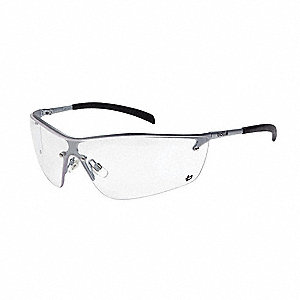 Silium Anti-Fog, Scratch-Resistant Safety Glasses, Clear Lens Color
