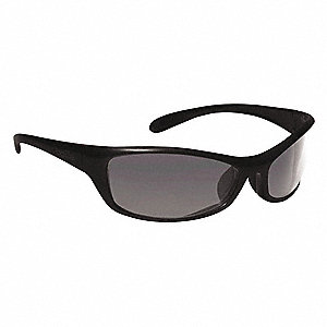 Spider Anti-Fog, Scratch-Resistant Safety Glasses, Smoke Lens Color