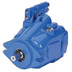 "1"" Keyed Open Circuit Piston Pump with 29 gpm Flow Rate and Left Shaft Rotation"