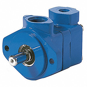 "1"" Keyed Single Vane Pump with 5 gpm @ 1200 rpm and 100 psi Flow Rate"