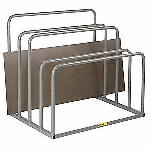 Great Vertical Sheet Storage Rack,36inWx48inD