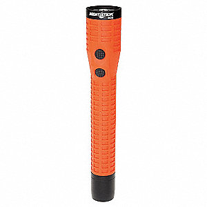 Industrial LED Industrial Handheld Flashlight, Polymer, Maximum Lumens Output: 650, Red