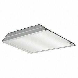 Recessed Troffer, LED Replacement For U-Bend, 4000K, Lumens 2000, Fixture Rated Life 50,000 hr.