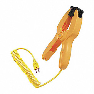 Mini Pipe Clamp Temperature Probe, -58° to 900° Temp. Range (F)