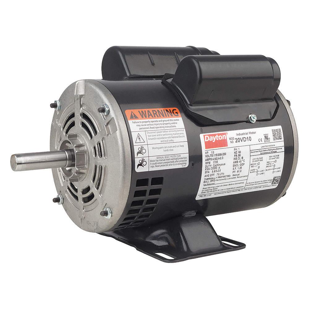 20VD10_AS01?$zmmain$ dayton mtr,cs cr,odp,3 4 hp,1725,56,eff 81 8 31tr74 31tr74 dayton capacitor start motor wiring diagram at bayanpartner.co