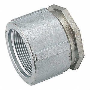 "2-1/2"" Threaded IMC, Rigid Coupling, Three-piece, 3-1/8"" Overall Length"