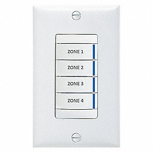Digital Wall Switch Acuity Lithonia Series GR2400 SystemsWhite