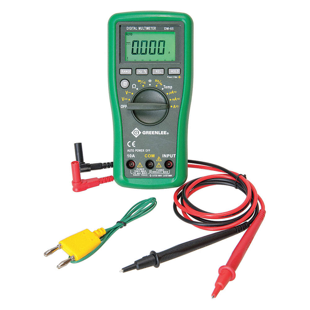 Greenlee R Dm 65 Full Size General Features Digital Multimeter K Thermocouple Interface Circuit Zoom Out Reset Put Photo At Then Double Click
