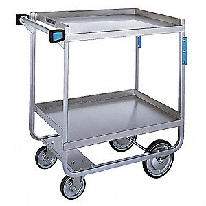 Utility Cart,700 lb.,Stainless Steel