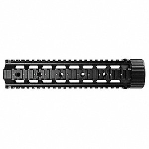 Tactical Forend Rail, Aluminum, Black