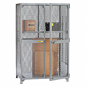 "Bulk Storage Locker, Openings: 1, Shelves: 1, 49""W X 27""D X 78""H"