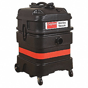 18 gal. Industrial/Commercial 1-5/8 Wet/Dry Vacuum, 8.6 Amps, Standard Filter Type