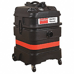 18 gal. Industrial/Commercial 1-5/8 Wet/Dry Vacuum, 8.6 Amps, HEPA Filter Type