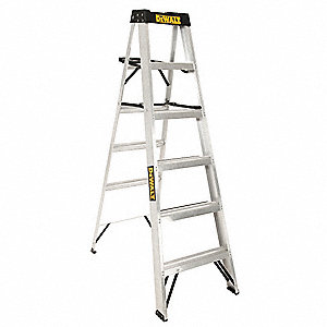 6 ft. 300 lb. Load Capacity Aluminum Stepladder