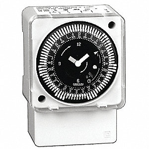 Electromechanical Timer,7-Day,SPDT