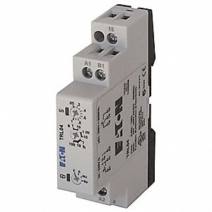 Multi-Function Time Delay Relay, 24 to 240VAC/DC Coil Volts, 8A Contact Amp Rating (Resistive), Cont
