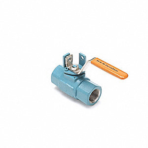 Ball Valve,Carbon Steel,2-Piece,Threaded