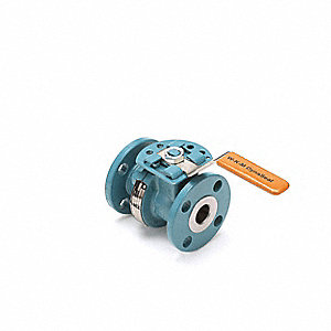 Ball Valve,Carbon Steel,2-Piece,Flanged