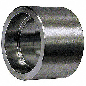 "316/316L Stainless Steel Coupling, FSW, 2"" Pipe Size (Fittings)"