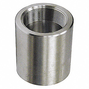 "304/304L Stainless Steel Coupling, FNPT, 3/4"" Pipe Size (Fittings)"