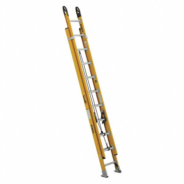 Dewalt Extension Ladder Fiberglass Iaa Ansi Type 20 Ft