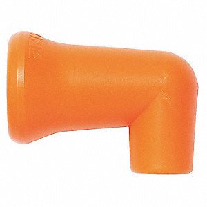 90 Degree Round Nozzle,1/4In,PK20