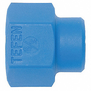 Female Pipe Reducer,1/2 NPT to 1/4In,PK4