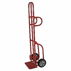 Beverage Hand Truck, Dual Loop, 600 lb. Overall Height 56""