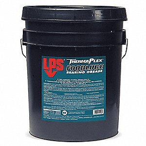 White Aluminum Complex Food Lube Bearing Grease, 35 lb., NLGI Grade: 2