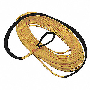 Winch Line,Synthetic,3/8 In. x 100 ft.