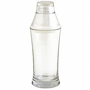 Cocktail Shaker,Clear,17 oz.,PK 4