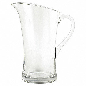 Pitcher,Clear,1.9 Qt.,PK3