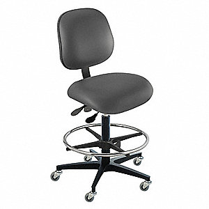 Ergonomic Chair with 350 lb. Weight Capacity, Black