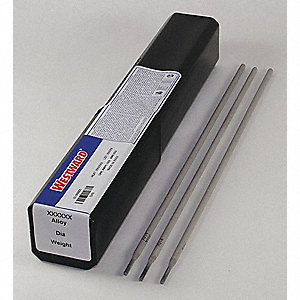 "14"" Carbon Steel Tube Welding Electrode with 1/16"" Dia. and E7014 AWS Classification"