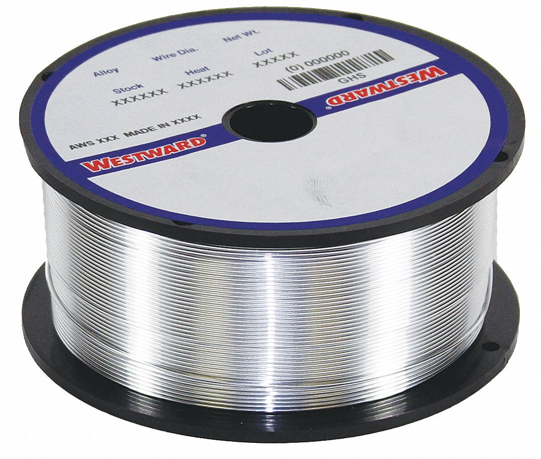 1 lb Aluminum Spool Mig Welding Wire with 0.035 in Diameter and ER4043 AWS Classification